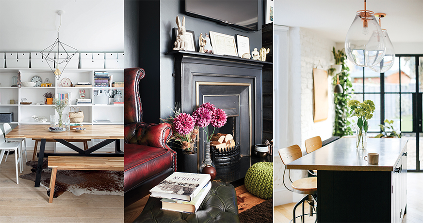 Real homes in the July/August issue