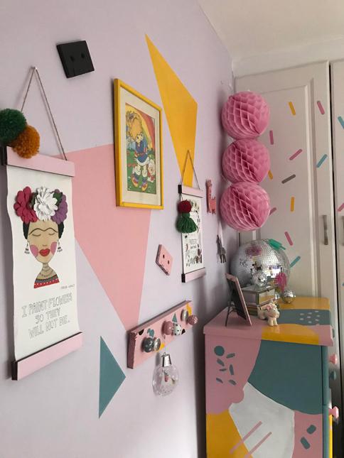 kids bedroom makeover 80s inspired