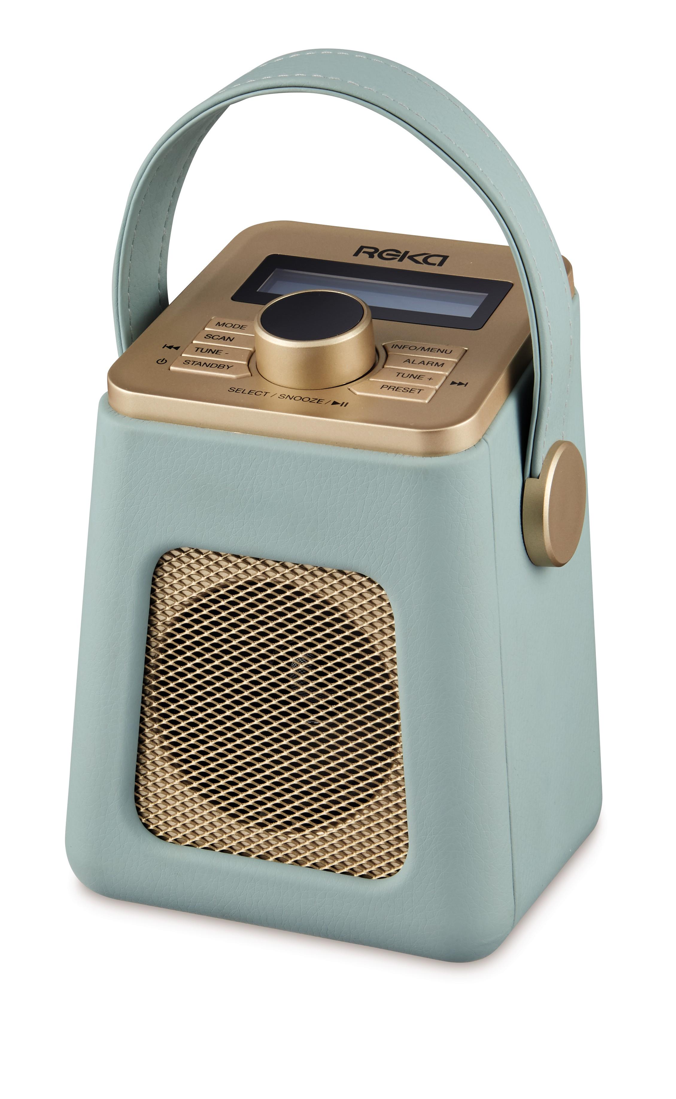 retro-inspired radio