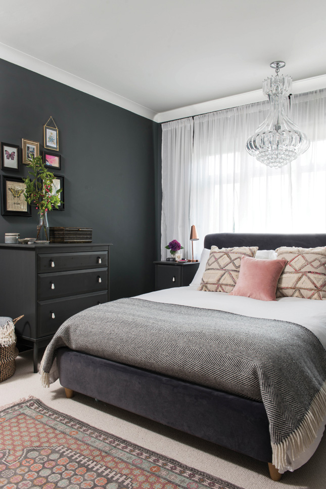 renovated family home bedroom