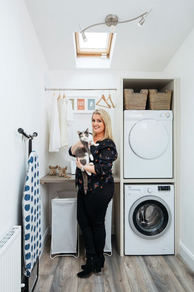 Laundry Room Makeover Before And After Design