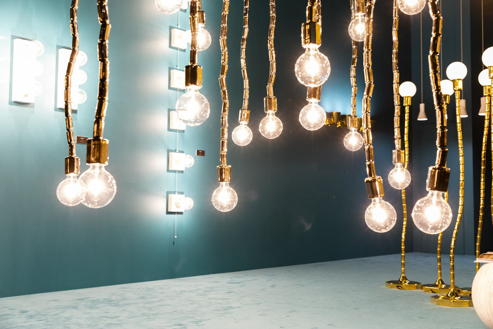 Flamina lighting, Salone del Mobile, Milan 2019