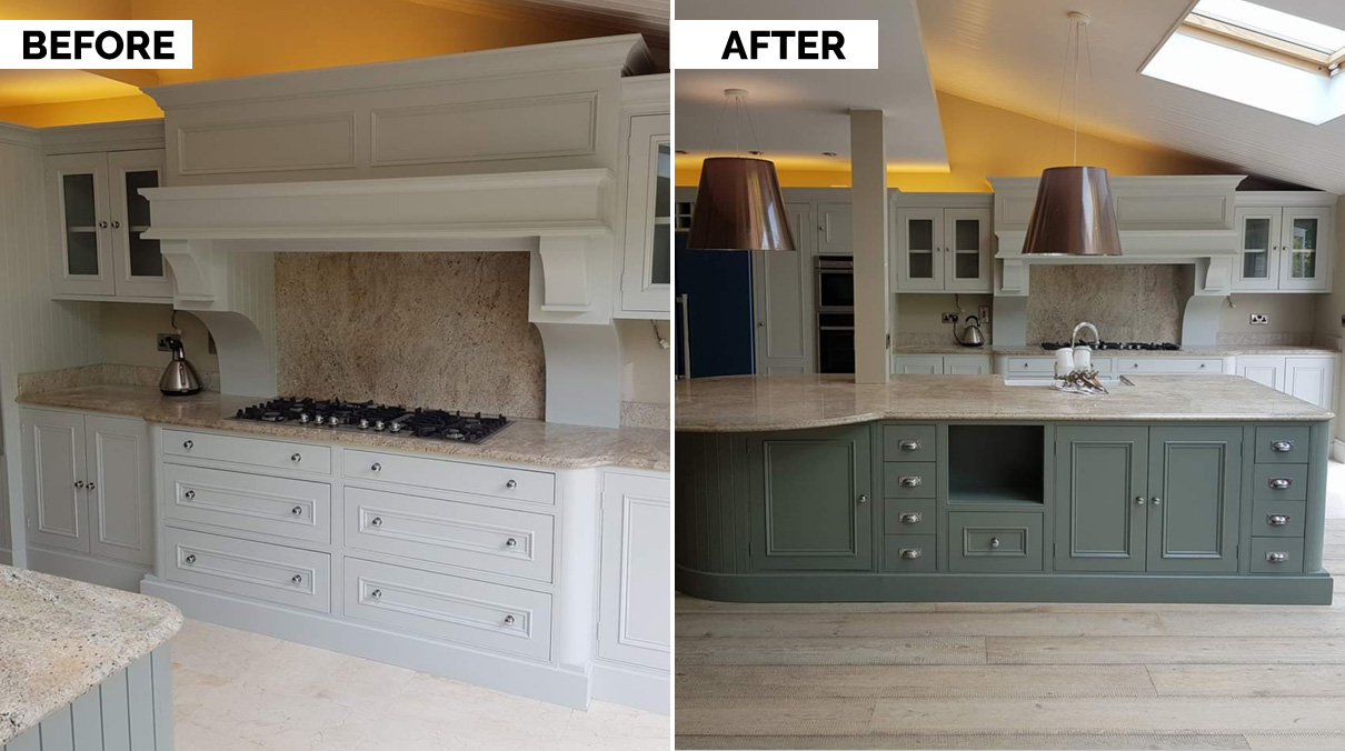 Kitchen Respray Everything To Know About Getting Your Kitchen Resprayed Houseandhome Ie