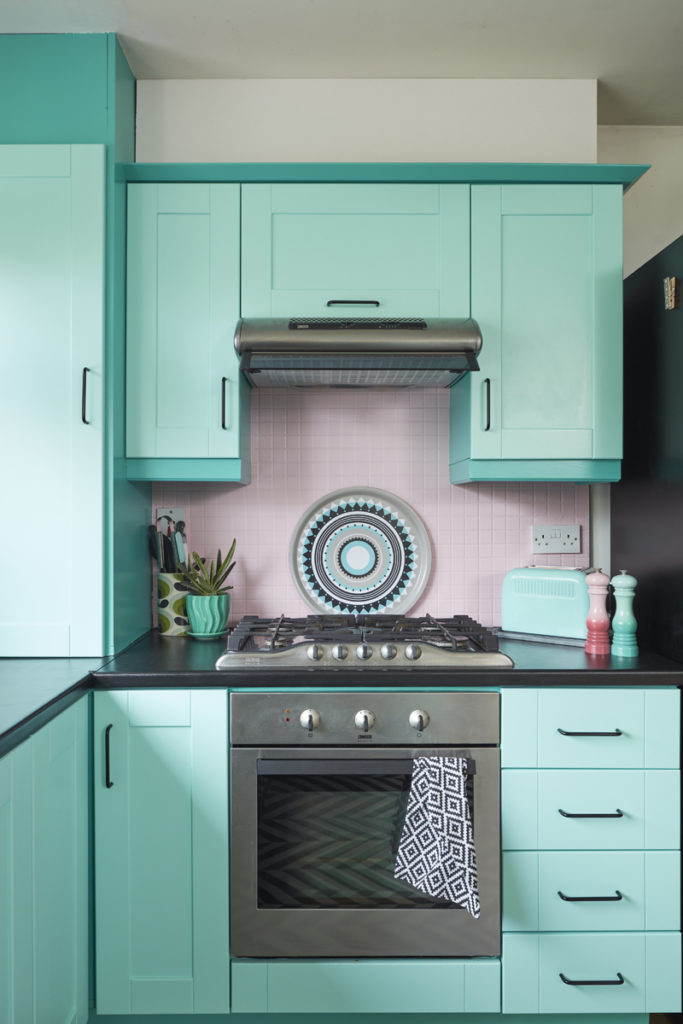 Saara McLoughlin's DIY kitchen makeover with Crown Paints