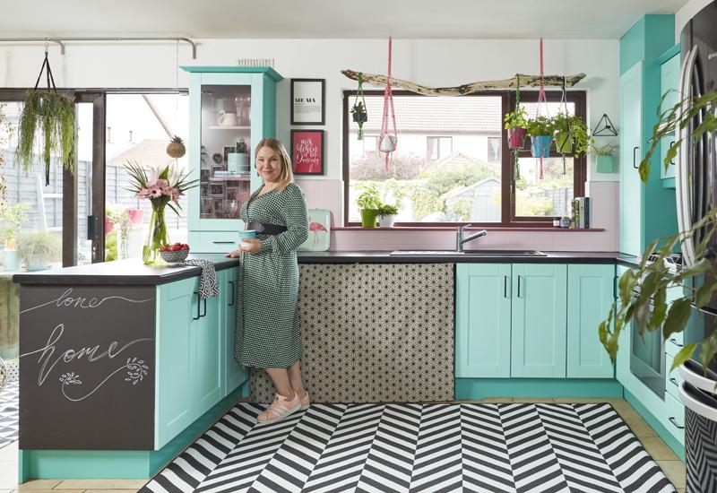 Saara McLoughlin DIY Crown Paints kitchen