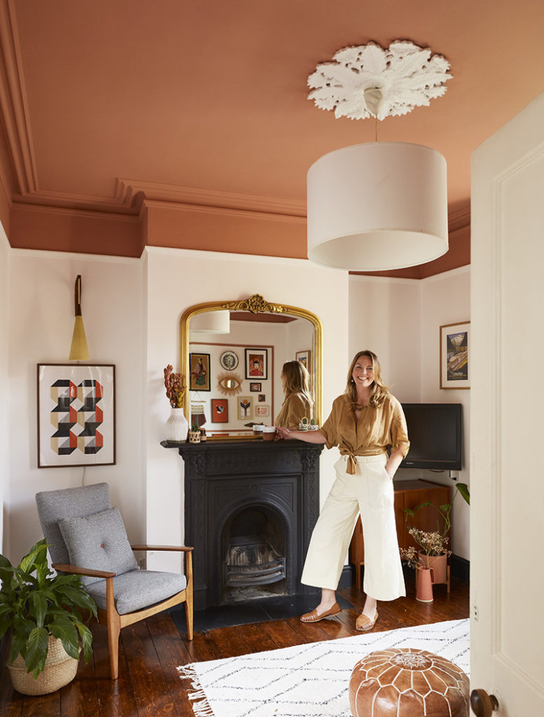 Frieda Furlong's living room makeover using Crown Paints