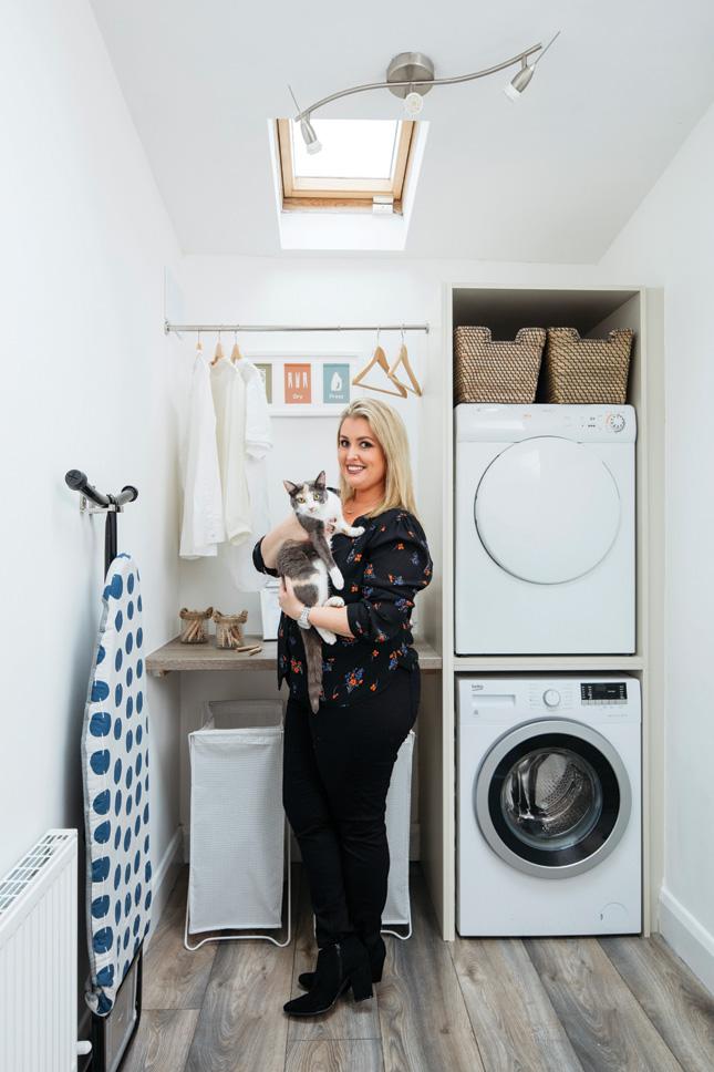 utility room laundry