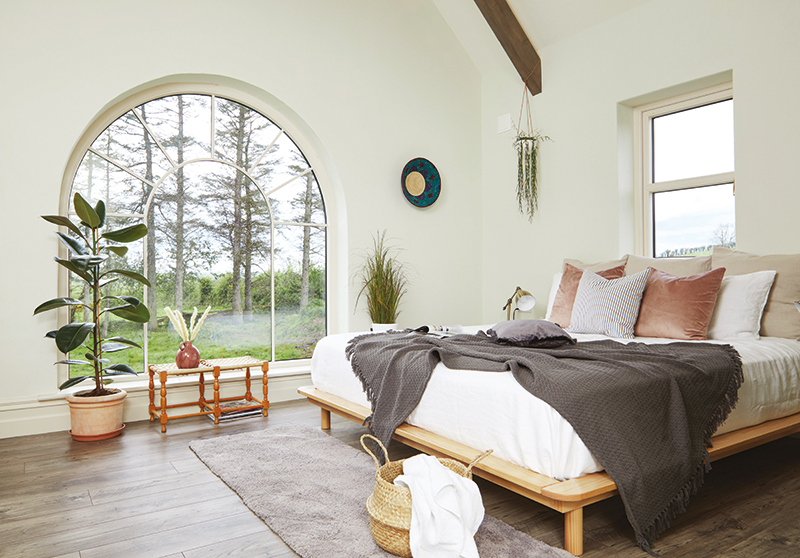Caroline Hassett's Tipperary new build, A House by The Trees - bedroom