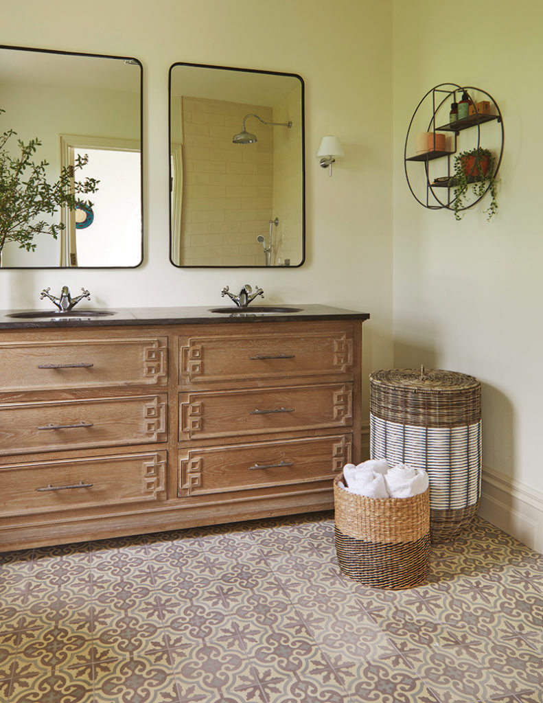 Caroline Hassett's Tipperary new build, A House by The Trees - bedroom ensuite