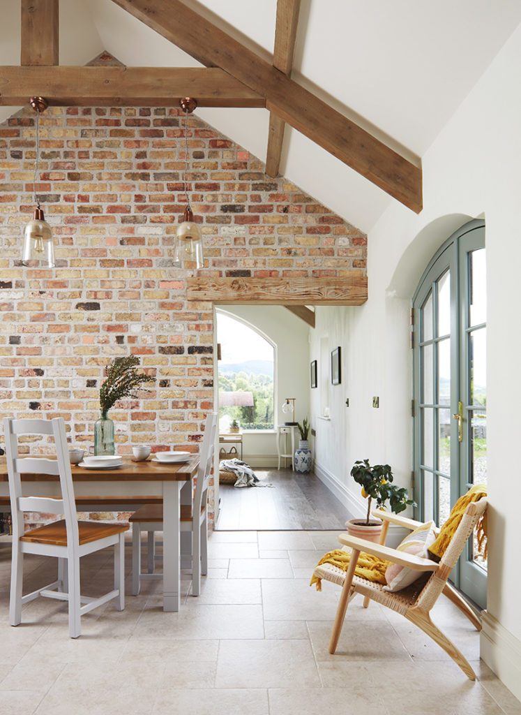 Caroline Hassett's Tipperary new build, A House by The Trees - dining area