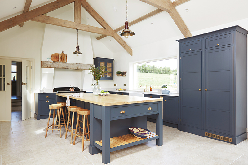 Caroline Hassett's Tipperary new build, A House by The Trees - kitchen area