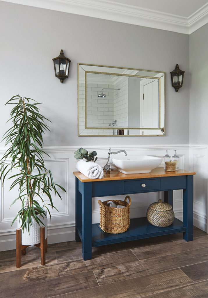 Caroline Hassett's Tipperary new build, A House by The Trees - family bathroom