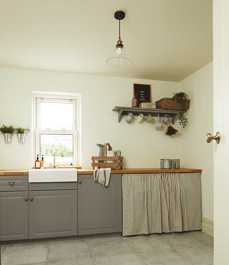 Caroline Hassett's Tipperary new build, A House by The Trees - utility room