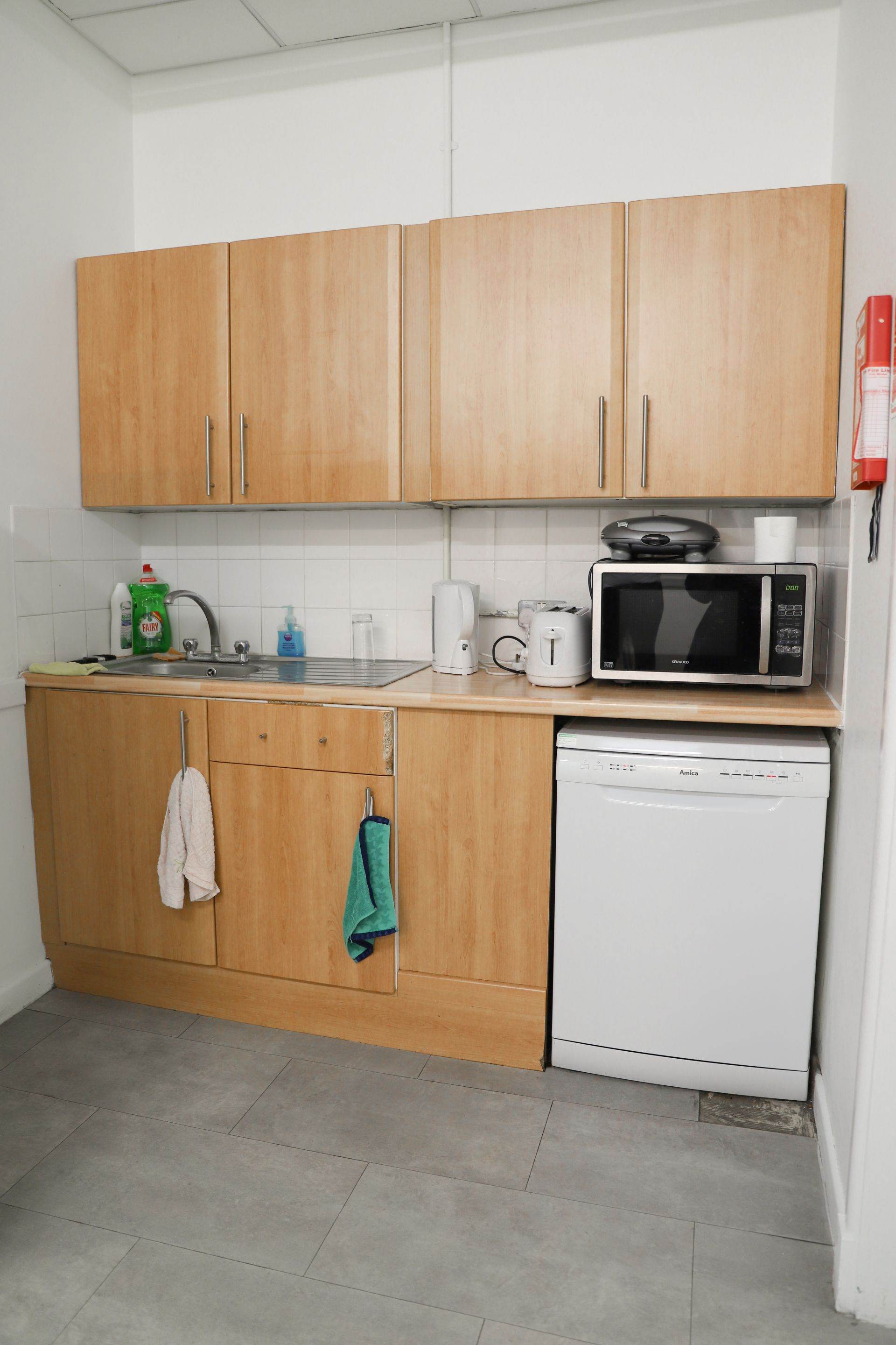 Budget kitchen makeover - Catherine Carton's painted ...