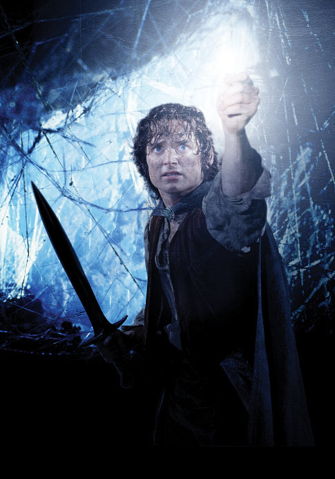 frodo in shelob's lair
