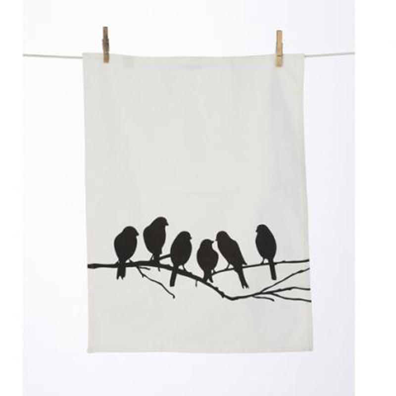 Love Birds Tea Towel