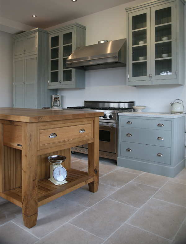 Don T Be Afraid To Mix Materials In Your Kitchen There S No Rule Say Island Unit Or Worksurfaces Have Match Cabinets