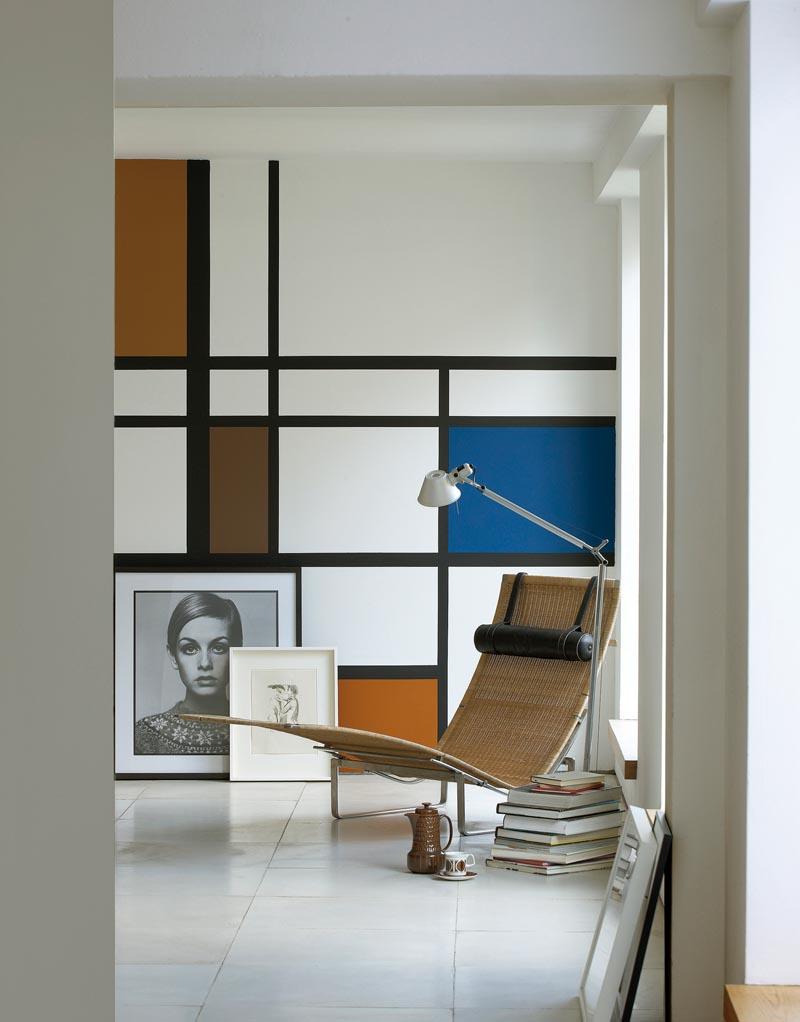 Mondrian walls