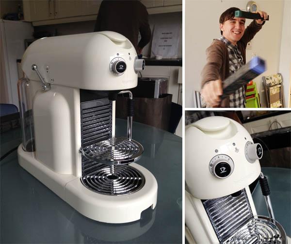 Nespresso maestria coffee maker