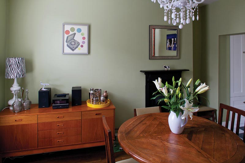 Stuart O'Sullivan's Stoneybatter dining room
