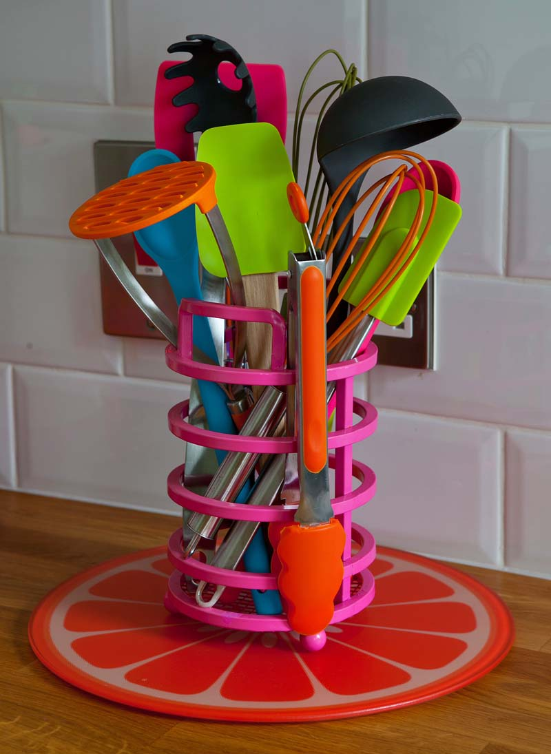 Stuart O'Sullivan's Stoneybatter kitchen - accessories