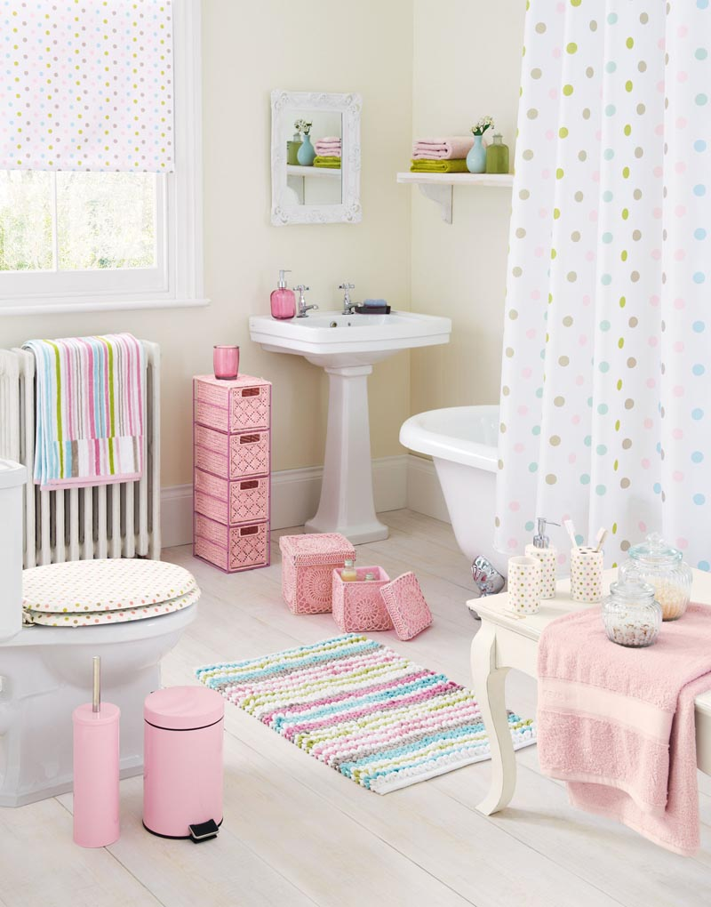 girly jasmin bathroom from Next