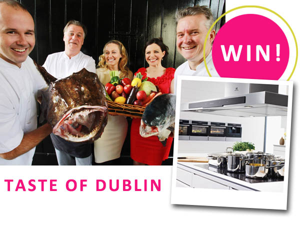win tickets to taste of Dublin