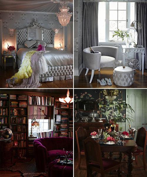 Inside Dita Von Teese S Vintage Home Houseandhome Ie