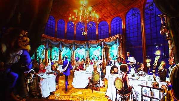 Beauty and The Beast themed restaurant to open in ...