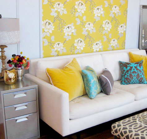 Ten different ways to use wallpaper... | HouseAndHome.ie
