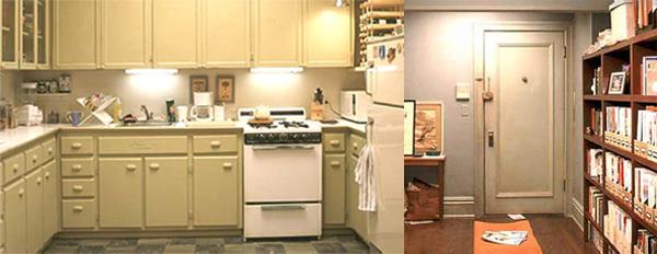 Carrie Bradshaw 39 S Apartment Old One Versus New One