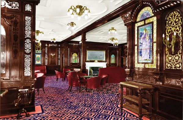 Titanic Remembered A Look Inside This Luxuriously