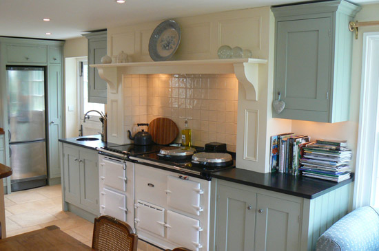 country painted kitchen cabinets how to reinvent your shaker kitchen houseandhome ie 6194