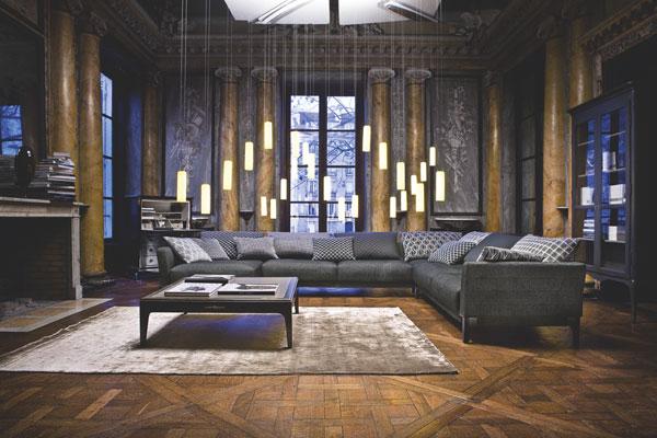 Sonia rykiel teams up with roche bobois - Roche bobois sofa price range ...