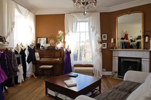Fashion designer ine McDonnells home HouseAndHomeie